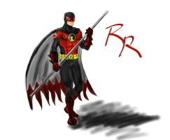 Red Robin Redesign Update by Raius1