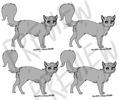 [ Cat Lineart - 30 points to use ] by Joker-Darling