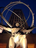 rockefeller atlas statue by gbarill