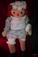 Raggedy Ann doll by slasherman