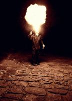 Fire, walk with me. by SeparateFromTheHead