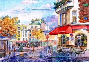 Montmartre by Andette