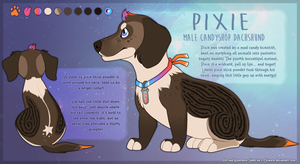 SOLD: Pixie the Candyshop Dachshund by c-Chimera