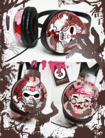 Zombie Headphones by Bobsmade
