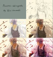 Process- shiroyasha by Gin-Uzumaki