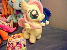 Filly Fluttershy Plush by Browntown747