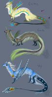 Elemental Dragon Adopts 1 -Closed- by animalartist16