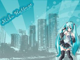 Miku hatsune by Crowryddle