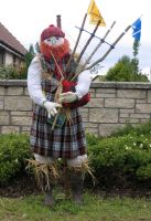 Highland Scarecrow by piglet365