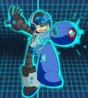 Mighty Mega Man No. 9 by MetalBreakdown