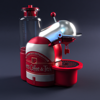 3D - Coffee Machine by nnq2603