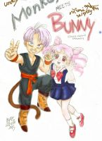 Chibi Trunks Rini Cover by abielleamiel