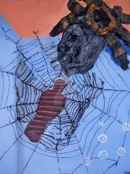 Mummy in a Spider Web by Eragon-the-angry