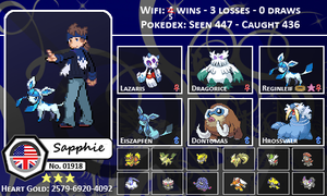 Sapphie's Trainer Card by EvilSapphie