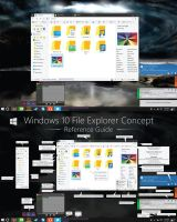 V3 Windows 10 Explorer Concept - Reimagined Ribbon by dAKirby309
