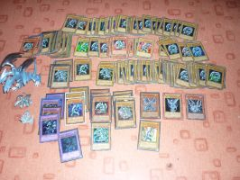 Blue Eyes white Dragon Trading Card Collection by Senria-chan