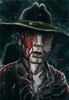CarlTWDFinalsample by CroctopusArt