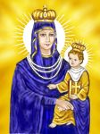 Our Lady of Siluva by Peekeeboo