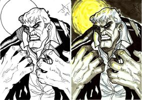 Quick Grundy sketch card by Jayson-kretzer