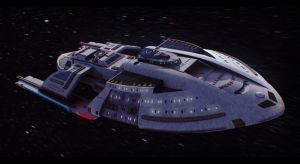 Star Trek USS Corona 3D Commission by AdamKop