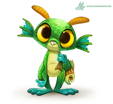 Daily Painting #958. Murky (FA) by Cryptid-Creations