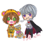 Junjou Halloween by helplessdancer