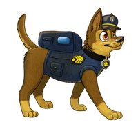Chase is on the Case! by SuperAthena