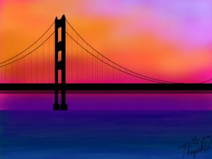 mackinac Bridge by Cutiecat1001