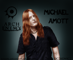 Michael Amott (Arch Enemy) - colored version by satans-anger
