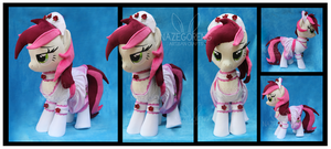 Maid Roseluck Custom Plush by Nazegoreng
