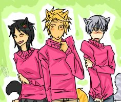 Fluffy sweaters~ Humanized Warriors by runtyiscute1999