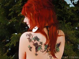 ivy tattoo and redhead 2 by Lioa