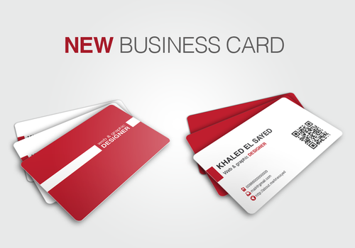 My NEW business card by ikale