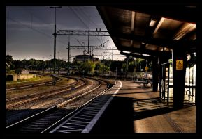 Train Station by stryder99