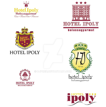 Hotel Ipoly Logos Project by djpren