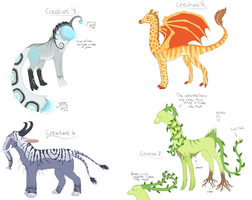 Creature Adopts ~2~ CLOSED by SummerAdopts
