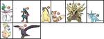 Negi Springfield's Pokemon for liamisgreat by ChipmunkRaccoon2