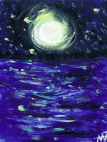 Starry Night, Except Somewhere Else by slight-obstruction