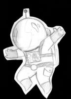 Lil Cosmonaut by Happy-Bomber