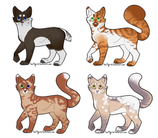 Cat Batch 1 (Open) by WolfInMyEyes