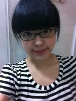 Without makeup and circle lens by takkeaya