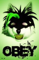 OBEY X-ICK by 1988Wolf