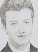 Chris Colfer by moncici6