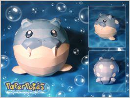 Spheal Papercraft by Lyrin-83