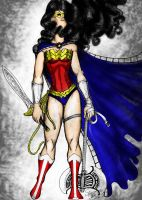 WonderWoman_amazon by kriptoniana