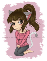 Commission: Chibi Chey by aLyTeh