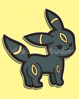 Umbreon from Pokemon by siristar