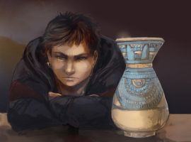 Egypt pot by oneoftwo