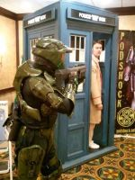 Master Chief meets the Doctor by Scarlet-Impaler
