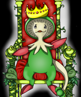 The Breloom named Pan by Ryu-chii